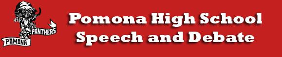 Pomona HS Speech and Debate